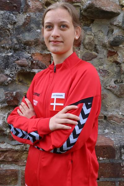 Alicia Panduro Berg landsholdskæmper i Taifu