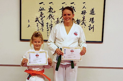 Graduering i Taifu Karate dojo – Frederiksværk