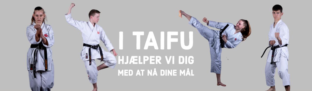 I Taifu hjælper vi dig med at nå dine mål