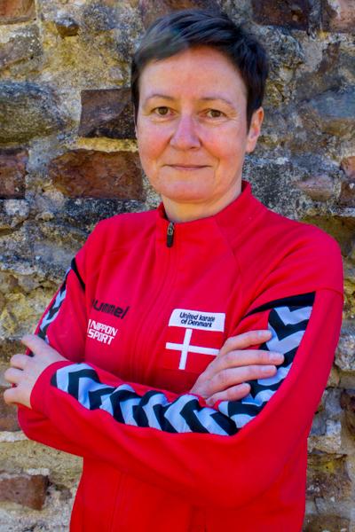 Charlotte Stensholm - landsholdskæmper i Taifu