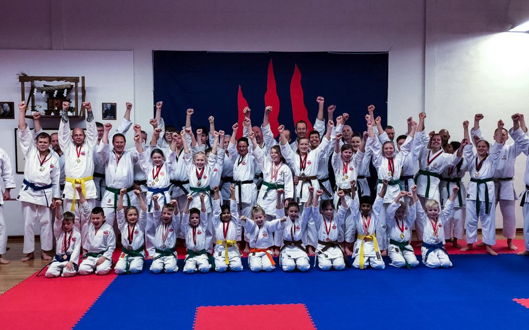 Flotte placering til Taifu Karate Dojo