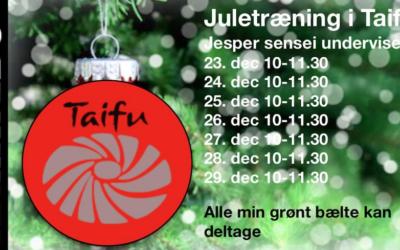 Juletræning i Taifu 2019