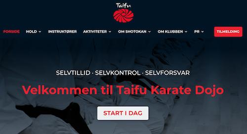 Ny hjemmeside til Taifu