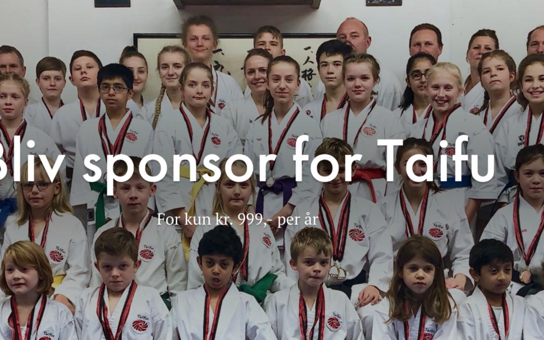 Bliv sponsor for Taifu Karate Dojo