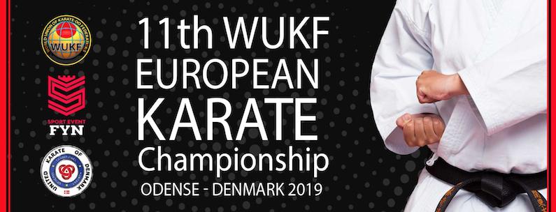 EM i karate afholdes i år i Danmark