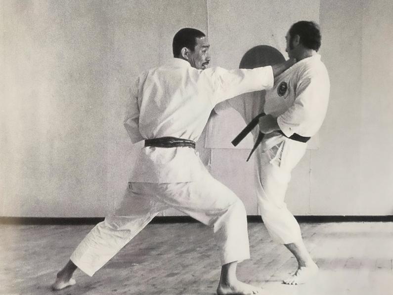 Tanaka sensei og Bura sensei