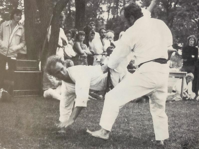 John Nielsen sensei og Bura sensei