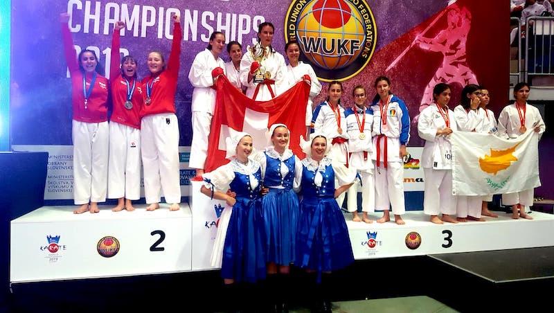 Topresultater til Taifu ved VM i Karate 2019